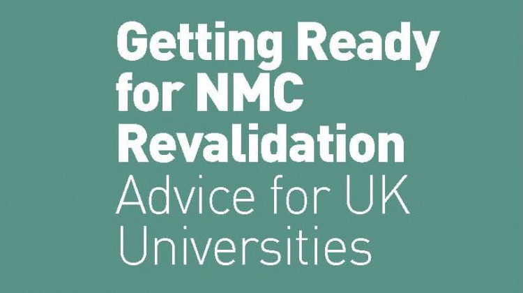 Getting Ready for NMC Revalidation: Advice for UK Universities