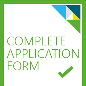 Complete application form image button