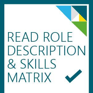 Role description and skills matrix button